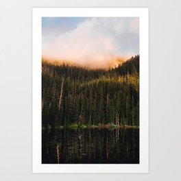 Golden Reflection Art Print