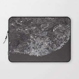Lisbon City Map I Laptop Sleeve