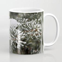 Snowy Evergreen Coffee Mug