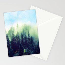 Spring forest Stationery Cards