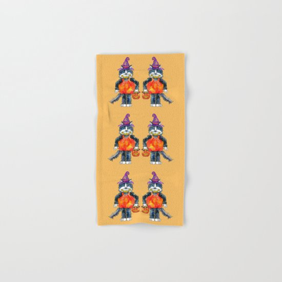 Trick or Treat Hand & Bath Towel