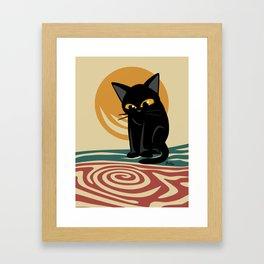 An eddy Framed Art Print