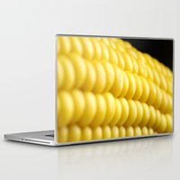 indiana Laptop & iPad Skins featuring Indiana Corn by Brian Raggatt