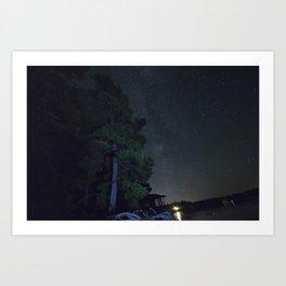Stars. Art Print