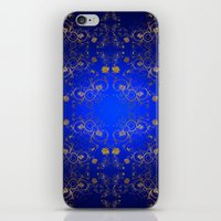 floral pattern iPhone & iPod Skins featuring Floral Pattern by Looly Elzayat