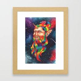 Manicorn Framed Art Print