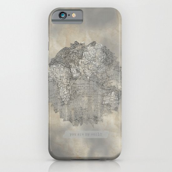 YOU ARE MY WORLD iPhone & iPod Case