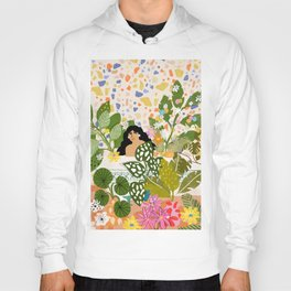 Bathing with Plants Hoody