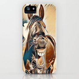 Laughing Jack iPhone Case