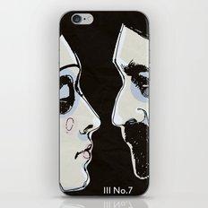 Two People iPhone & iPod Skin