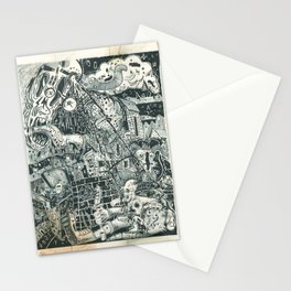 N.A.S.A. Control Stationery Cards