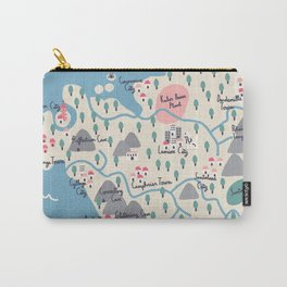 Kalos Map Carry-All Pouch