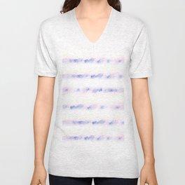 pastel lines Unisex V-Neck