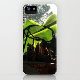 Bijao para la vida / Bijao for life iPhone Case