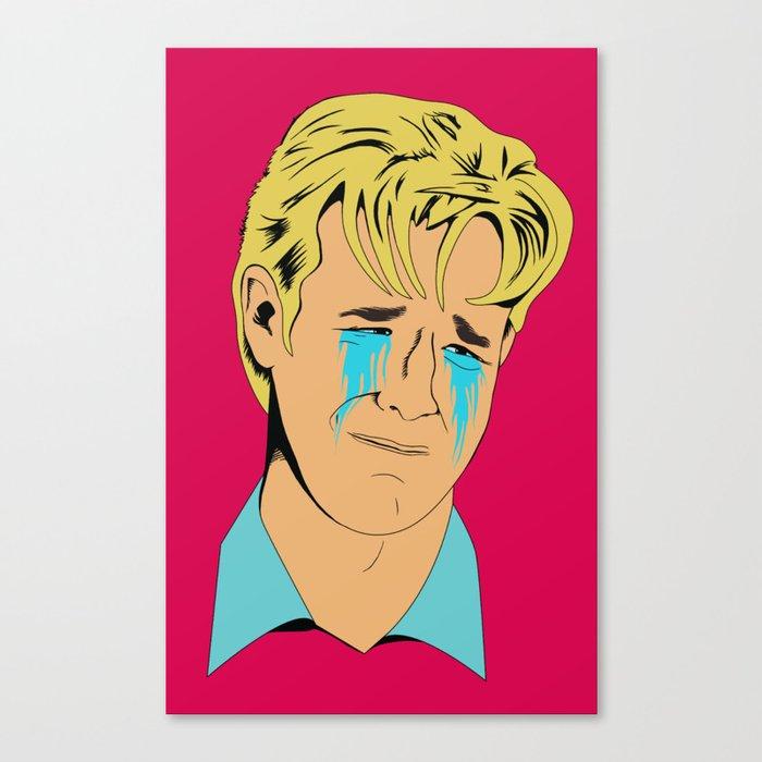 Crying Icon #1 - Dawson Leery Canvas Print