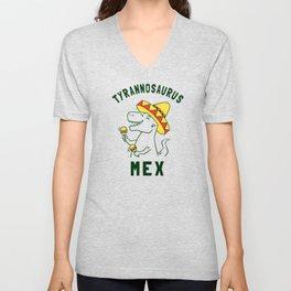 Tyrannosaurus Mex Unisex V-Neck
