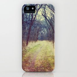 The Woods Are Lovely, Dark and Deep...  iPhone Case