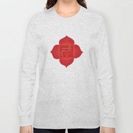 Muladhara Root Red Chakra Long Sleeve T-shirt