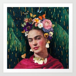 Frida Kahlo :: World Women's Day Art Print