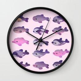 Dolphin Day Wall Clock