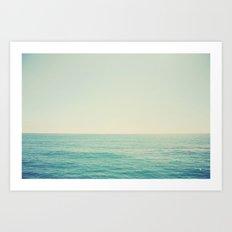 California Ocean Art Print