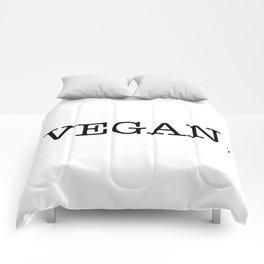 VEGAN. Comforters