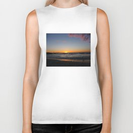 Sea Sunset Biker Tank