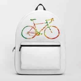 tie dye bicycle Backpack