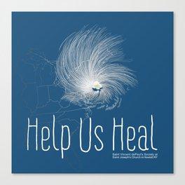 Help Us Heal - Hurricane Sandy Relief Canvas Print