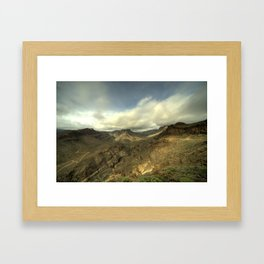 Canarian Vista  Framed Art Print