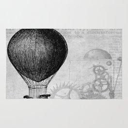 hot air balloon 4 Rug
