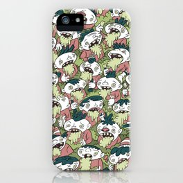 We're All Frothing At The Mouth iPhone Case