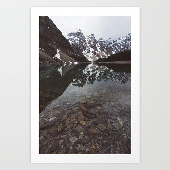 Moraine Lake #society6 #buyart Art Print