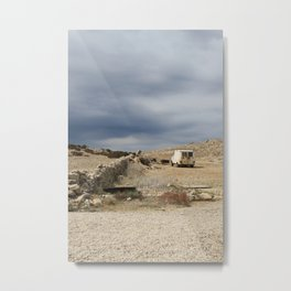 Lonely Pag Metal Print