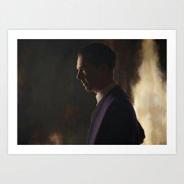 Sherlock - The Abominable Bride Art Print