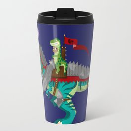 Dino Knight T-Rex Travel Mug