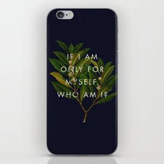 The Theory of Self-Actualization II iPhone Skin