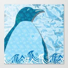 Penguin: Love Canvas Print