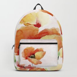 Beautiful Poppies #society6 Backpack
