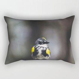 Yellow-Rumped Warbler Rectangular Pillow