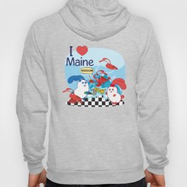 Ernest and Coraline | I love Maine Hoody