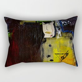 At The Bar And Bistro by Kathy Morton Stanion Rectangular Pillow