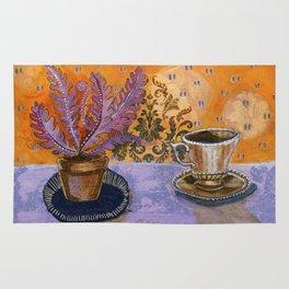 Tea in the solarium Rug