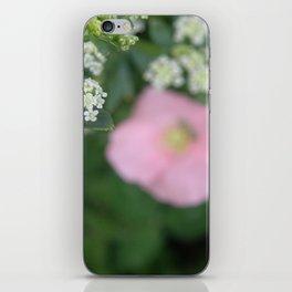 Pink Poppy iPhone Skin