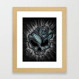 skull smash Framed Art Print