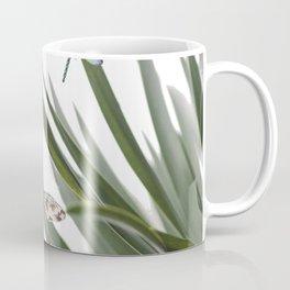 Cactus Dragonflies Tropical Art Print Coffee Mug