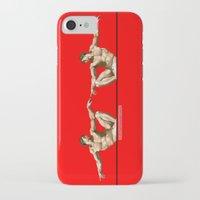 atheist iPhone & iPod Cases featuring Adam & Adam by bartovan