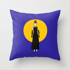 Moon River Throw Pillow