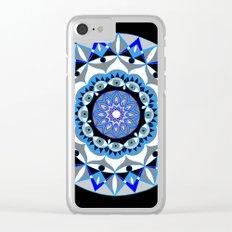 My Peace Mandhala   Secret Geometry   Energy Symbols Clear iPhone Case