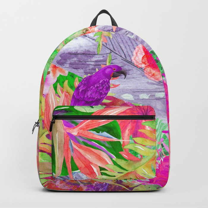 exotic parrots i Backpack